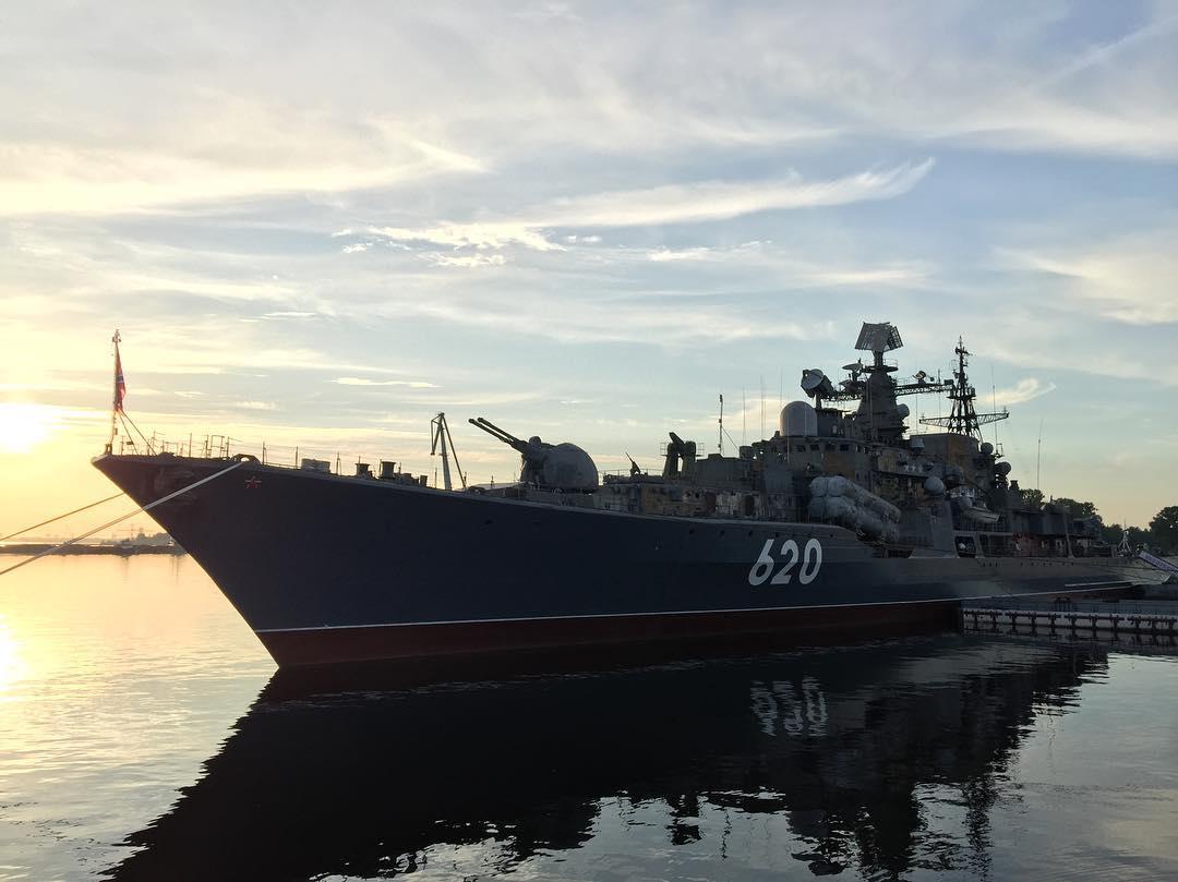 В Кронштадте открыли самый большой в России корабль-музей