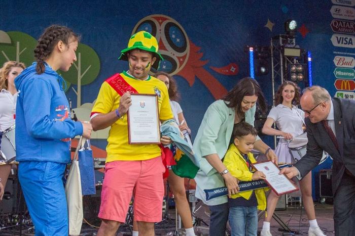 Фан-зону чемпионата мира на Конюшенной посетил миллионный болельщик