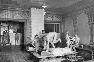 Какими были бани XVIII века, как аристократы лечились в парных от холеры и чахотки и как парили императоров