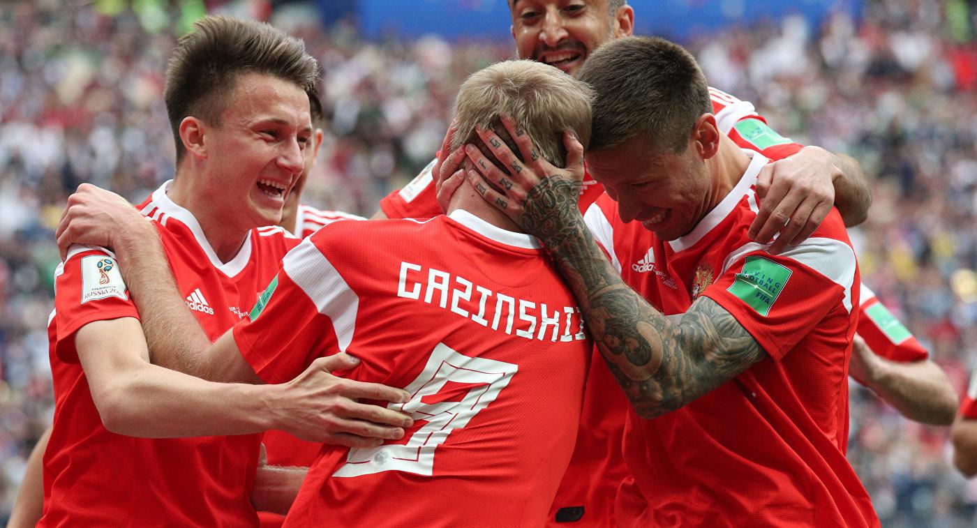 Россия поднялась на 21 позицию в рейтинге FIFA. Это лучший показатель среди всех сборных