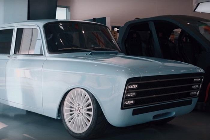 Концерн «Калашников» показал проект электромобиля, который будет конкурировать с Tesla Илона Маска