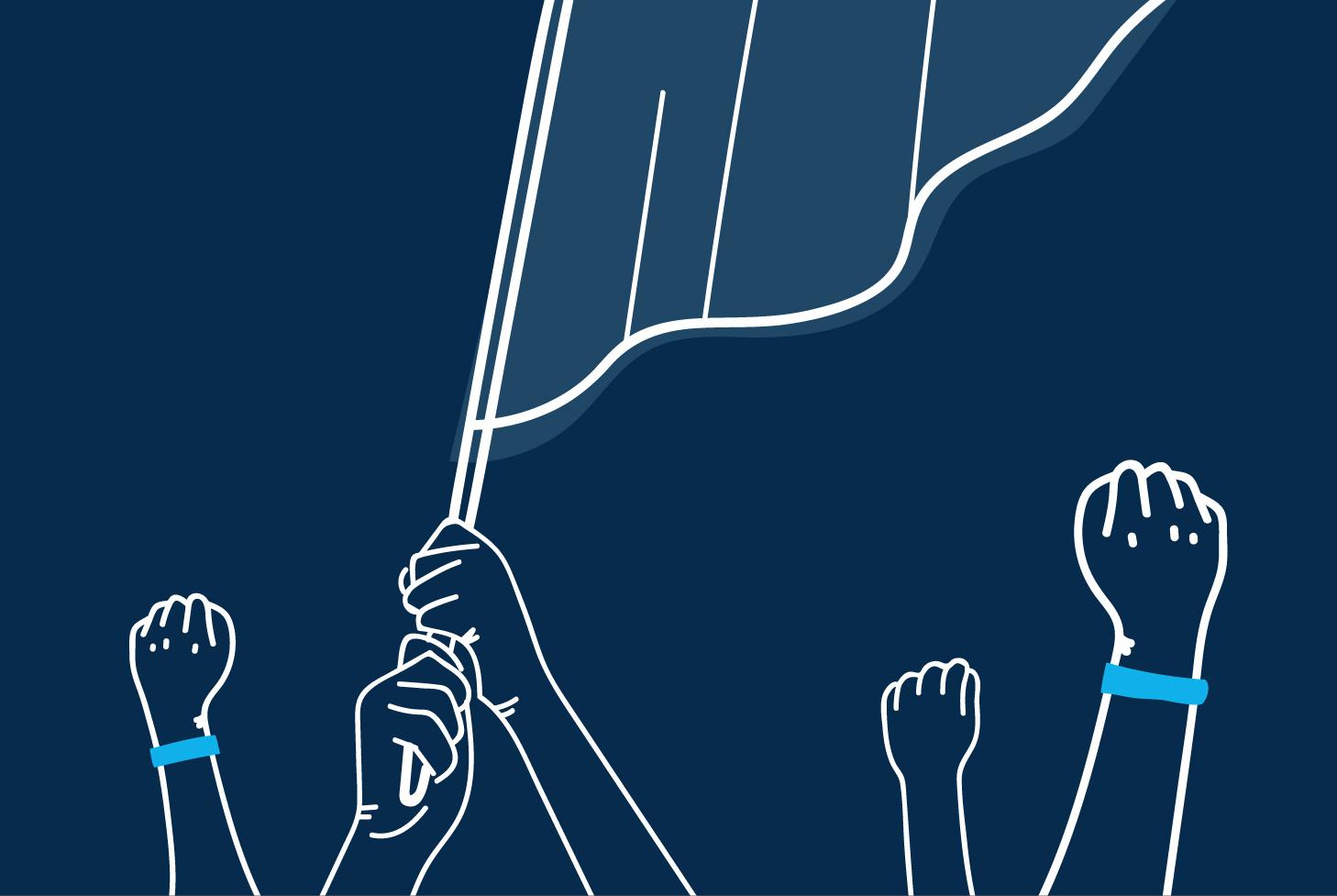 13 общественно-политических акций фанатов «Зенита». От признаний в любви к Петербургу до поездок в Донбасс