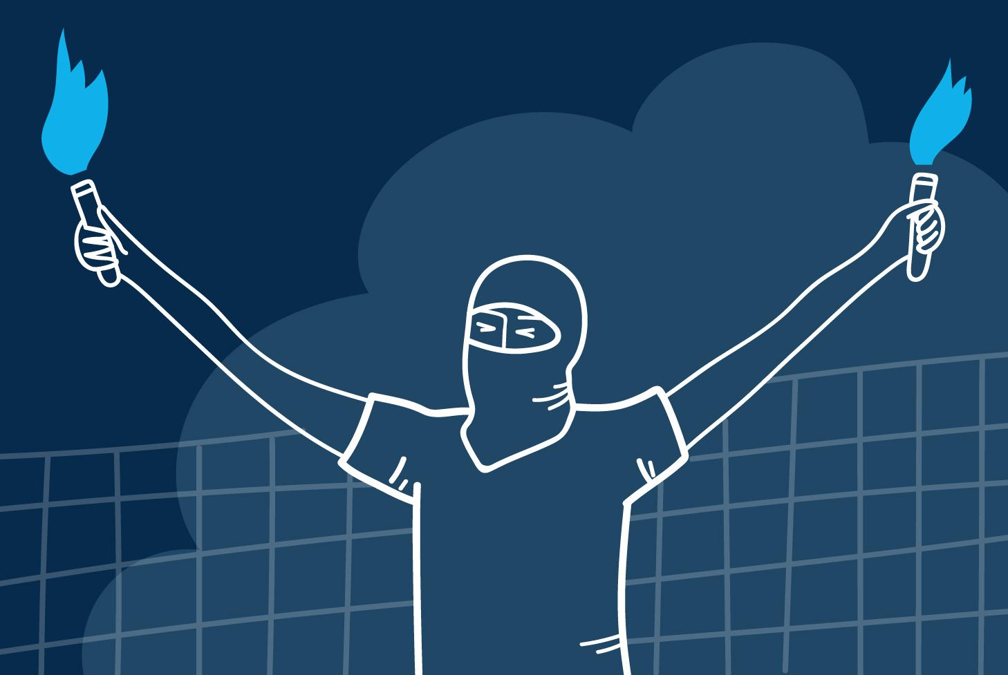 Как выглядит фанатское движение «Зенита» изнутри? Максим «Пацифик» Дукельский рассказывает о«вираже», выездах и драках
