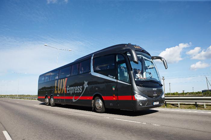 Lux Express запустила распродажу билетов в Ригу, Хельсинки, Таллин и Вильнюс со скидками до 50%