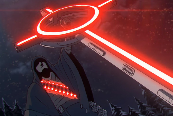 Богатырь с гранатами-матрешками и лазерным крестом спасает Древнюю Русь — каким будет мультфильм «Киберслав» от петербургской студии и как его придумали?