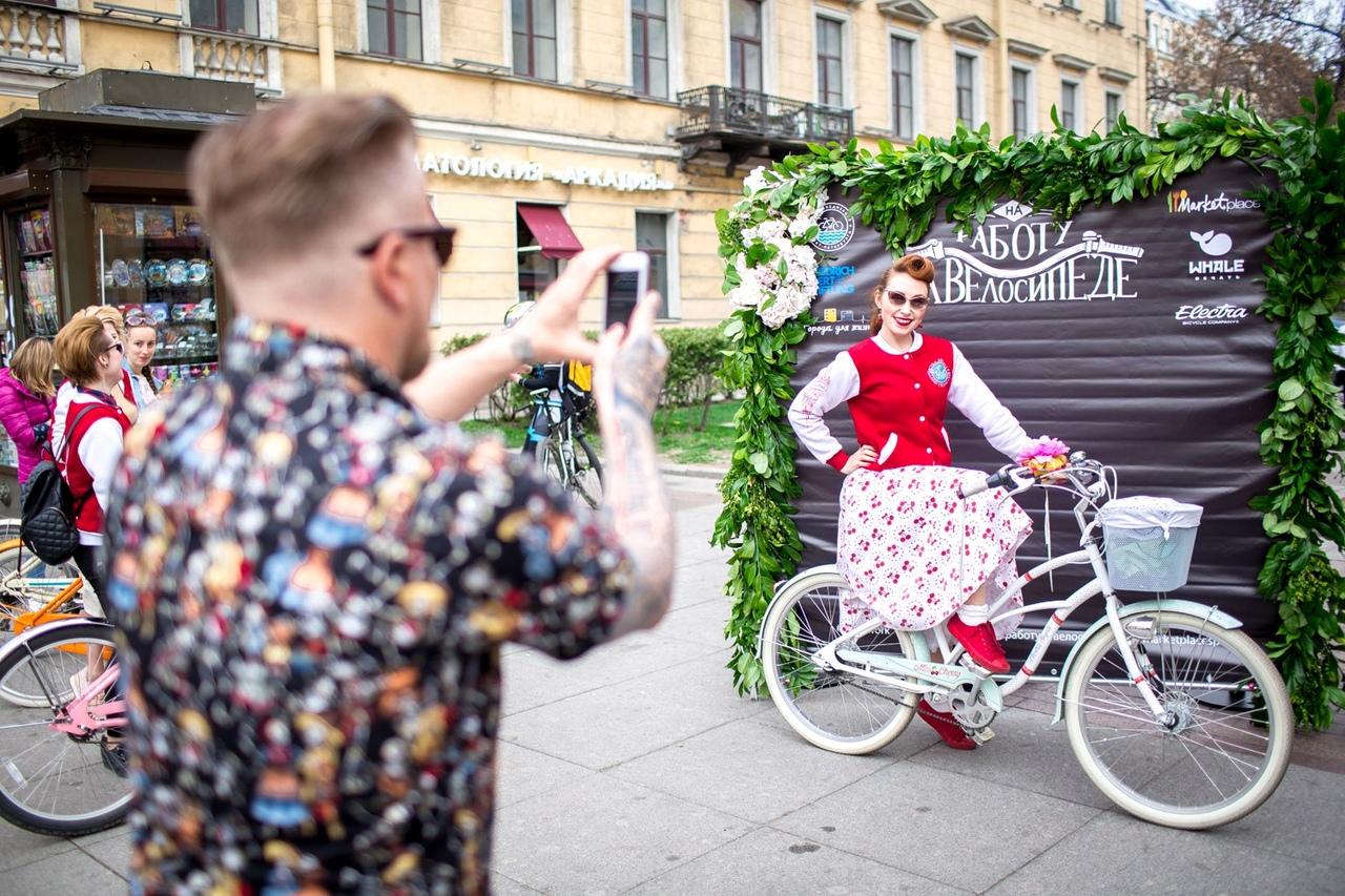 В пятницу в Петербурге пройдет ежегодная акция «На работу на велосипеде»
