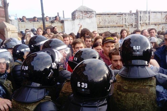 В Москве после митинга 9 сентября возбудили уголовное дело о нападении на полицейского