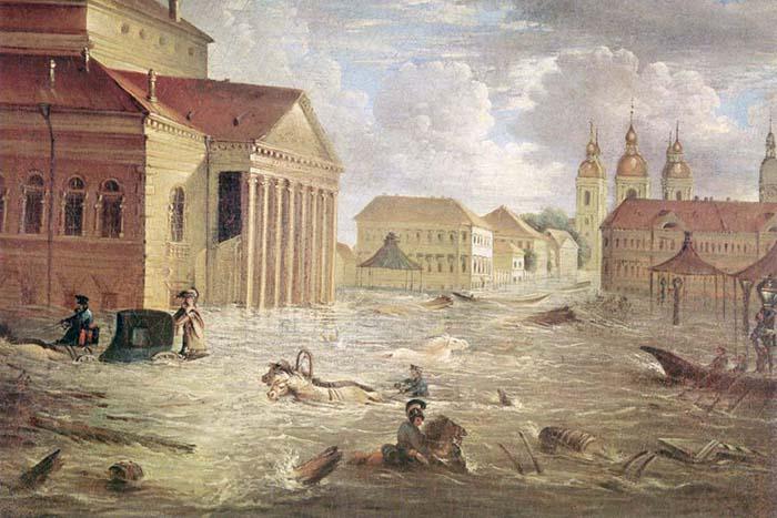 Как Петербург страдал от затоплений в XVIII–XX веках, какие легенды о наводнениях рассказывали горожане и как защищали город от потопов