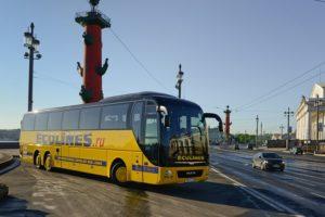Ecolines запустил маршрут из Петербурга в Петрозаводск. Билеты можно купить со скидкой 50 %