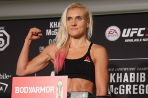 Петербурженка Яна Куницкая попала в UFC — главный турнир по смешанным единоборствам. Каково это — драться с четырех лет и вернуться к поединкам после родов
