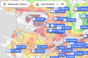 Где в Петербурге самое дорогое и самое дешевое жилье? «Яндекс» запустил интерактивную карту цен
