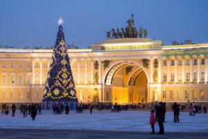 Как пройдет Новый год в Петербурге. Салют, перекрытый Невский, много гуляний и вечеринки в клубах