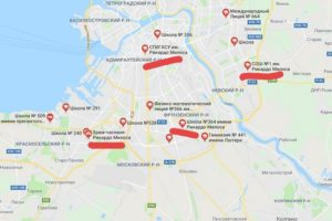 Петербургские школы и магазины называют именем стриптизера Рикардо Милоса на картах Google