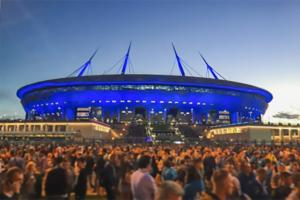 Стадион на Крестовском острове во время чемпионата Европы не будет носить имя «Газпром-Арена»