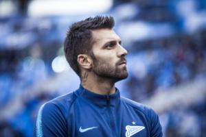 Вратарь «Зенита» Юрий Лодыгин до конца сезона будет играть за греческий «Олимпиакос»