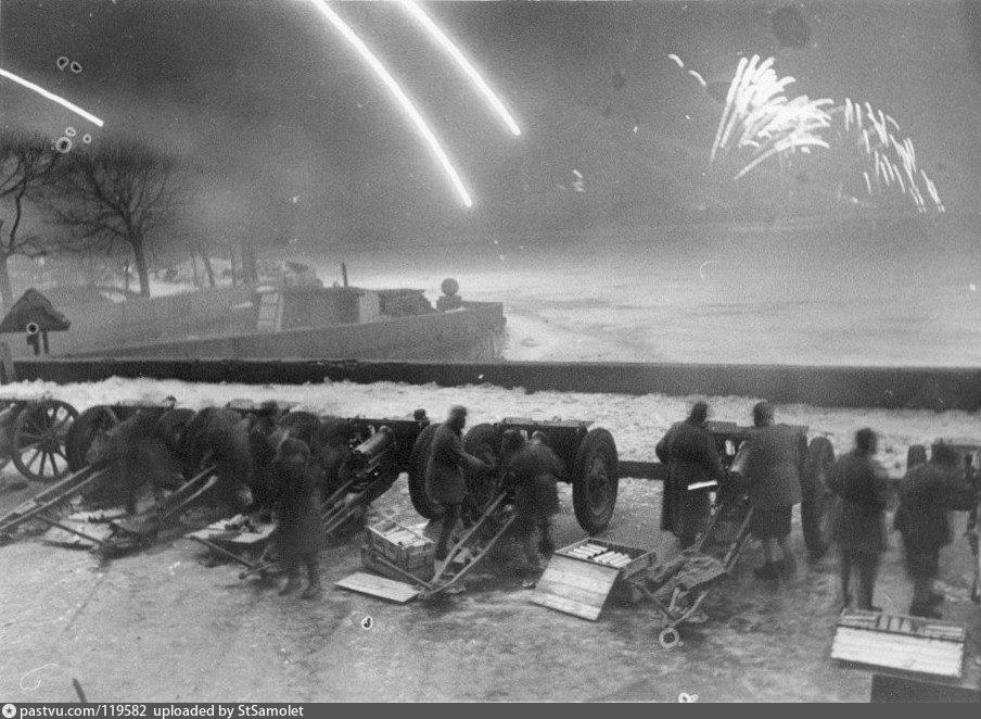 Освобождение блокады ленинграда фото