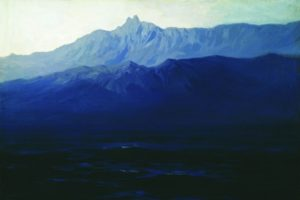 Похищенную картину Куинджи вернули на выставку в Третьяковскую галерею. Полотно поместили под защитное стекло