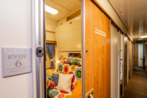 IKEA оборудовала вагон в поезде Москва — Петербург. Попасть на него можно бесплатно, ответив, почему вам нужно выспаться в поездке