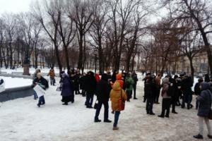 Как прошел «Марш материнского гнева» в Петербурге