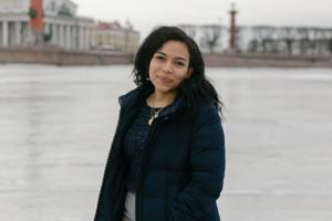 Стефани-А Мендьета из Никарагуа — о петербургском метро, бабушках на детских площадках и любимой книге Достоевского