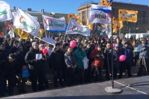 В Петербурге прошел митинг за честные выборы. Полиция задержала одного участника
