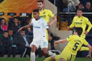 «Зенит» проиграл «Вильярреалу» в ответном матче 1/8 финала Лиги Европы и выбыл из турнира