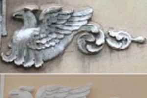 Петербуржцы раскритиковали реставрацию исторического дома в центре города. После нее на здании появились трещины, а лепнину заменили на «халтурную копию»