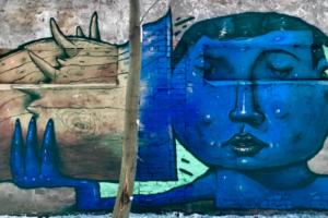 В «Севкабель Порту» появился стрит-арт о проблеме потери слуха