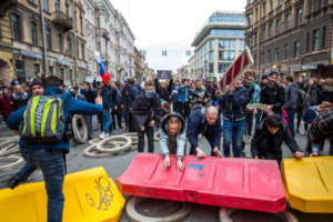 Суд объяснил, за что назначил штраф в 7 млн рублей активистам «Весны». Они провели митинг перед «самым трагичным праздником нашей страны»