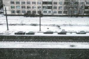 «Так красиво, но так достало»: петербуржцы снимают очередной мартовский снегопад. И негодуют