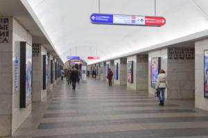 Вестибюль станции «Технологический институт — 1» закрыли на все выходные