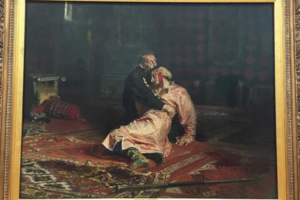 Повредившего картину Репина «Иван Грозный и сын его Иван» мужчину приговорили к 2,5 годам колонии
