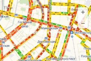 «Площадь стояния»: петербургские водители жалуются на пробки и обсуждают Путина