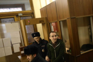 Антифашист Юлий Бояршинов, обвиняемый по делу «Сети», дал признательные показания. Как прошло заседание суда в Петербурге и что стало известно об организации и ее участниках