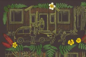 Петербургское издательство «Бумкнига» выпустило графический роман «Под покровом леса» о финских легендах и преданиях