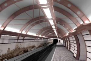 Контракт на строительство станции «Горный институт» продлили до 2022 года. Сначала ее хотели сдать к осени 2019 года