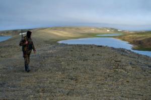 Путешествовать по Русскому Северу на байдарке, месяцами жить в безлюдной тундре и фотографировать белых медведей