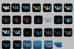 Артемий Лебедев показал варианты логотипа «ВКонтакте», которые не утвердили в 2011 году
