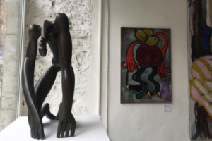 Фонд екатеринбургского скульптора Андрея Антонова открыл на улице Рубинштейна галерею Antonov Gallery