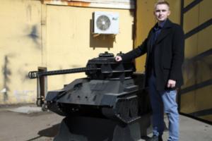 В Петербурге продают мангалы в виде танков Т-34. Председатель совета военных инвалидов назвал это кощунством