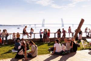 В «Севкабель Порту» пройдет фестиваль «День Финляндии». Там можно будет поиграть в гольф и сходить на VR-экскурсию