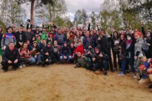 Участники Конопляного марша собрались на Суздальских озерах. Они решили обсудить проблемы наркопотребления «без публики»