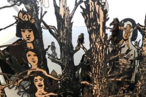 Инсталляция петербургского художника Шишкина-Хокусая отправилась на квадриеннале в Прагу. Посмотрите, как выглядит работа