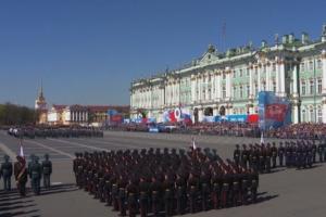 Парад, «Бессмертный полк» и салют: как в Петербурге празднуют День Победы. Трансляция