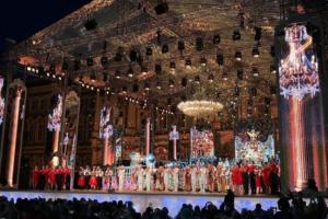 Как в Петербурге прошел концерт «Классика на Дворцовой» — под дождем и без Анны Нетребко. Десять фото и видео