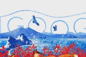 Дудл «Гугла» ко Дню России создали петербургские художницы. Они рассказывают, как работали над иллюстрацией для главной страницы поисковика