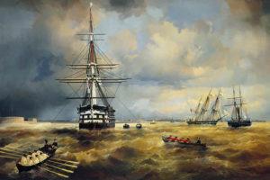В Кронштадте пройдет выставка Ивана Айвазовского — с его ранними работами и малоизвестными рисунками. Чем они необычны и как город повлиял на художника