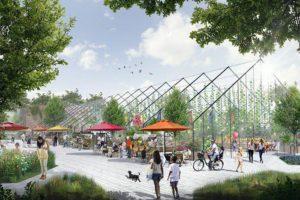 В заброшенных оранжереях Таврического сада Ginza Project хочет открыть кафе, лектории и рынок. Когда они заработают и сколько вложат в реконструкцию
