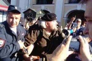 На акции против полицейского произвола в Петербурге задержали трех человек