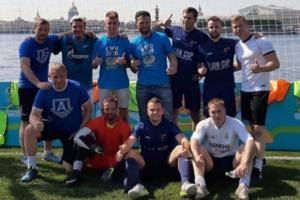 На Заячьем острове открыли Парк футбола в честь чемпионата Европы 2020 года. Там будут проводить мастер-классы